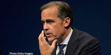 Pound falls as Carney rules out early rate rise