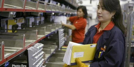 Royal Mail rallies as FTSE retreats 1.4%