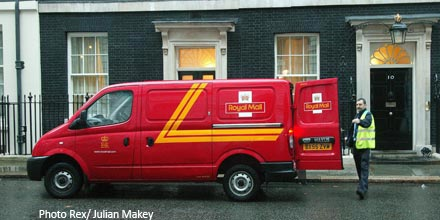 Gov't decides against selling rest of Royal Mail stake at high