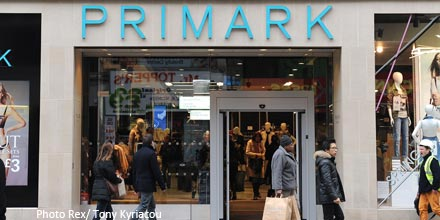 Primark's US ambitions prop up FTSE