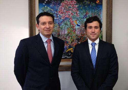 Alejandro meets Juan Zidan from Afore Banamex