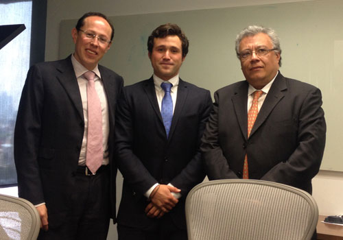 Alejandro meets Victor Hugo Flores & Carlos Tames of Monex Funds