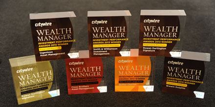 Citywire Wealth Manager Investment Performance Awards 2013: winners revealed
