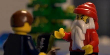 RDR, Christmas, Lego: you've got to watch this video!