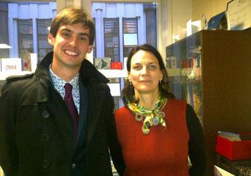 Avec Sylviane Masson, Directrice de la Multigestion chez AG2R La Mondiale