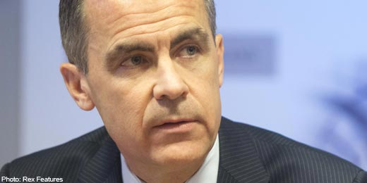 Pressure off Carney as inflation falls to 1.6%