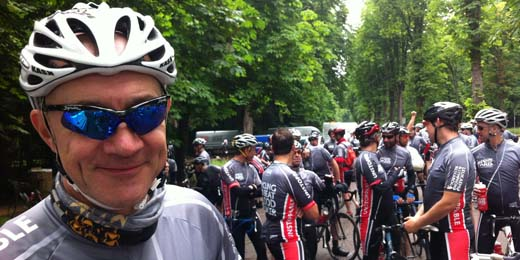 London to Paris 2014 rider profiles: Brewin Dolphin's Stephen Jones and Andrew Lewis