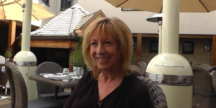 Lunch with Investec's Laura Lambie
