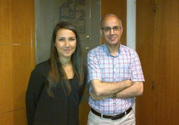 Sabrina Kheloufi rencontre Djamil Djerafi de Generali Investments a Paris