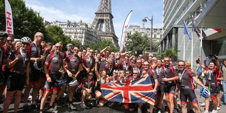 London to Paris cycle 2014: photos & the fastest wealth manager