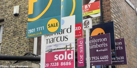 Buy-to-let blow hits challenger banks, dents house builder rally