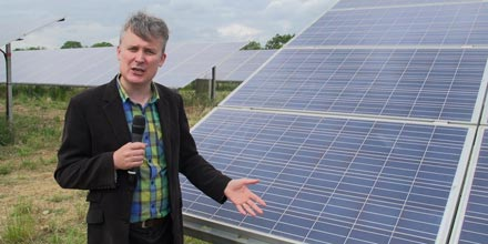 Renewable energy: what I found on my solar farm trip