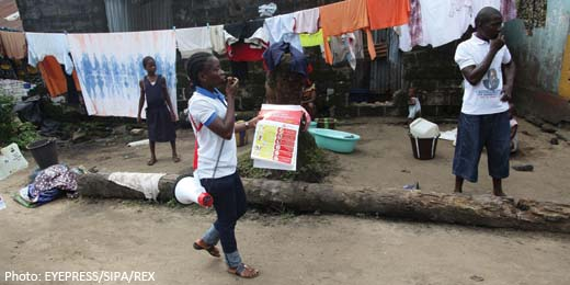 Skittish world market underplays impact of Ebola outbreak in Africa