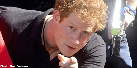 What should Prince Harry do with his inheritance?
