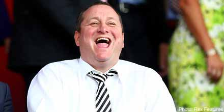 Giles Hargreave firm sells 4.26m Rangers shares to Mike Ashley