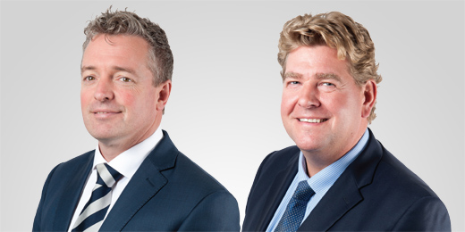 Rathbones' Philip Gent and Oliver Pearson-Lund: Keeping the team together for two decades