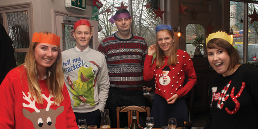 Wealth Manager Christmas jumper lunch
