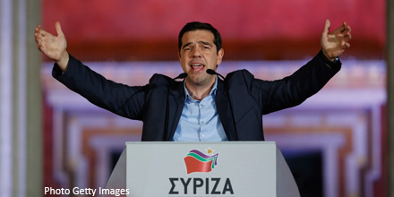 FTSE dips as Syriza triumphs in Greek election