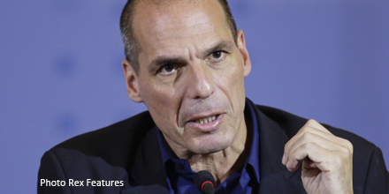 FTSE falls but markets avoid bloodbath as Varoufakis resigns