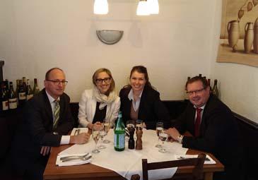 Elisa Morettini zum Mittagsessen mit W&W AM