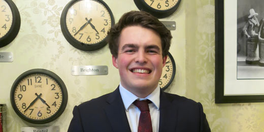 Fresh faces: Ross Jefferies of H&D Wealth