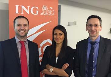 Avec l'équipe de sélection de fonds de ING au Luxembourg