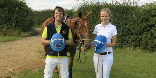 On the Road Challenge: horsing around on the polo pitch