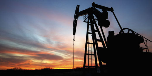 Oil soars on global stock market rally and US growth