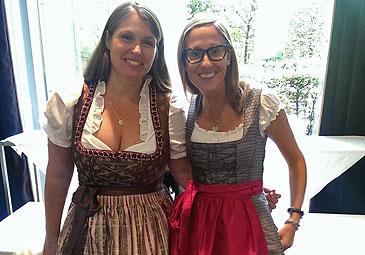 Wiesn-Treffen mit Katharina Ehrhardt von W&W