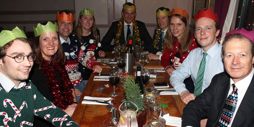 Wealth Manager's 'On the Road' Christmas lunch