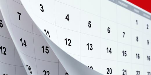 Dates for your diary: the year ahead for IFAs