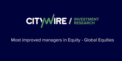 Gaining ground: the most improved global equity managers