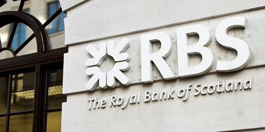 FTSE falls as RBS dives on £968m loss
