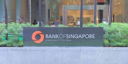 Wealth management fee income of OCBC hits new high