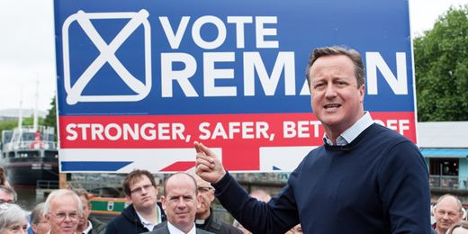 David Cameron defends referendum as 'right thing to do'