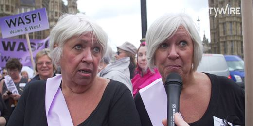 Watch: women take state pension fight to Westminster
