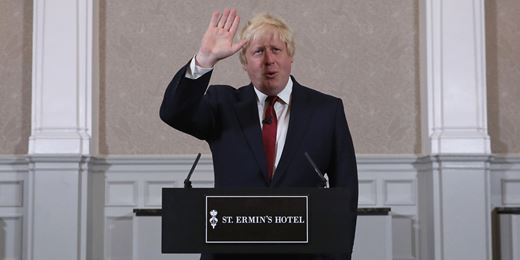 Boris Johnson drops out of PM race after Gove challenge