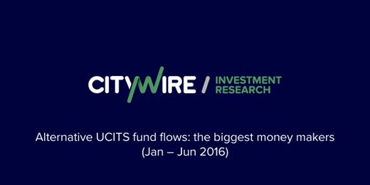 The Alt Ucits funds attracting the most money in 2016 so far
