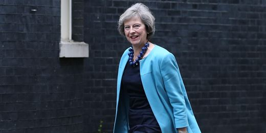 May rules out second EU referendum or snap election