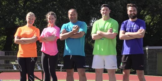 Wealth Managers battle it out in Battersea Olympics 2016