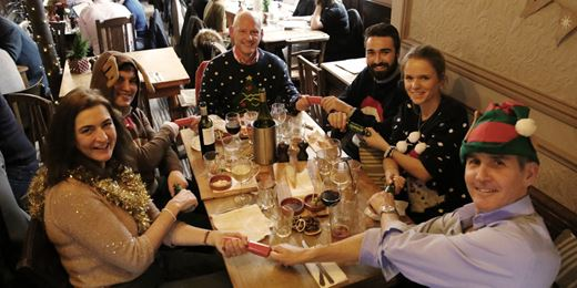 Wealth Manager's On the Road Christmas Jumper Lunch