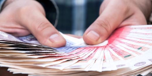 Pension freedom payments hit £1.6bn again