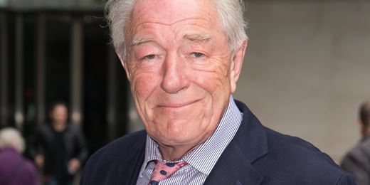 A wizard idea: Michael Gambon voices Aberdeen's bond movies