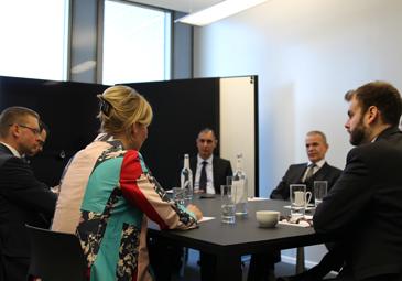 Vermögensverwalter Roundtable im Citywire HQ, München