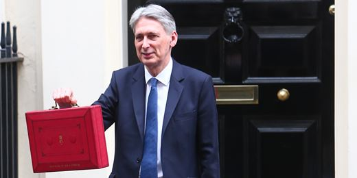 Fall in UK borrowing hands Hammond Budget wiggle room