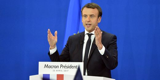 Big bets on Euro equity rewarded as Macron takes lead