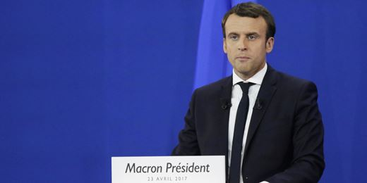 World leaders hail Macron's victory
