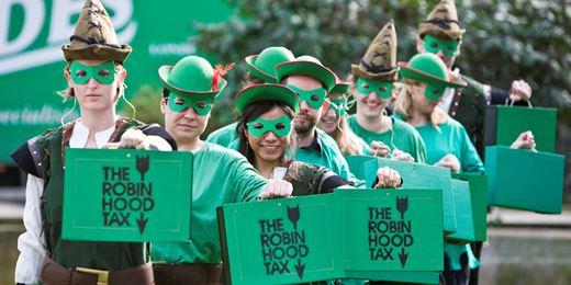 Labour pledges £26bn 'Robin Hood' tax on City