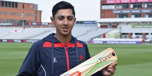 Manchester IFA sponsors rising England cricket star