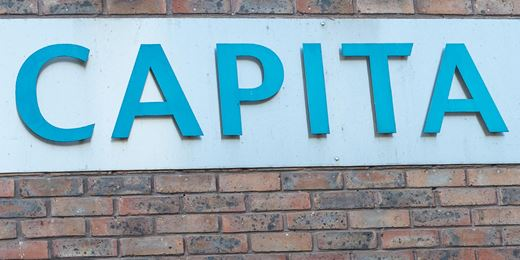 Capita shares jump after £888m funds sale